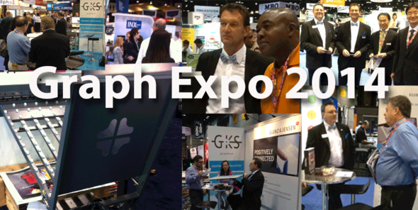A great GraphExpo 2014 for Glunz & Jensen