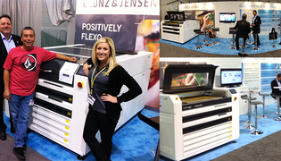 Glunz & Jensen at Label Expo Americas